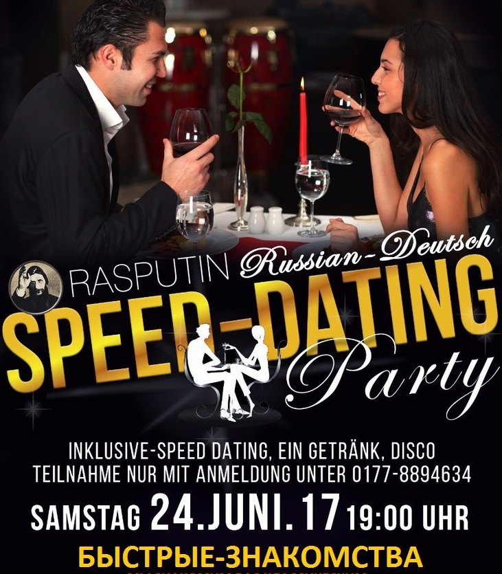 Speed dating in Russia Moscow and in Ukraine Kiev